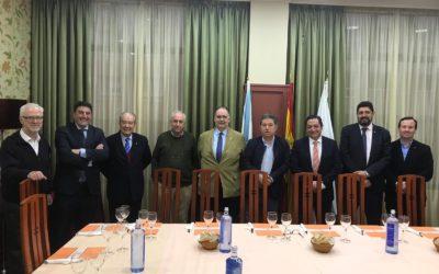 """El Rotary Club de Pontevedra organiza """"Ciclo con candidatos… BNG: Miguel Anxo Fernandez Lores"""