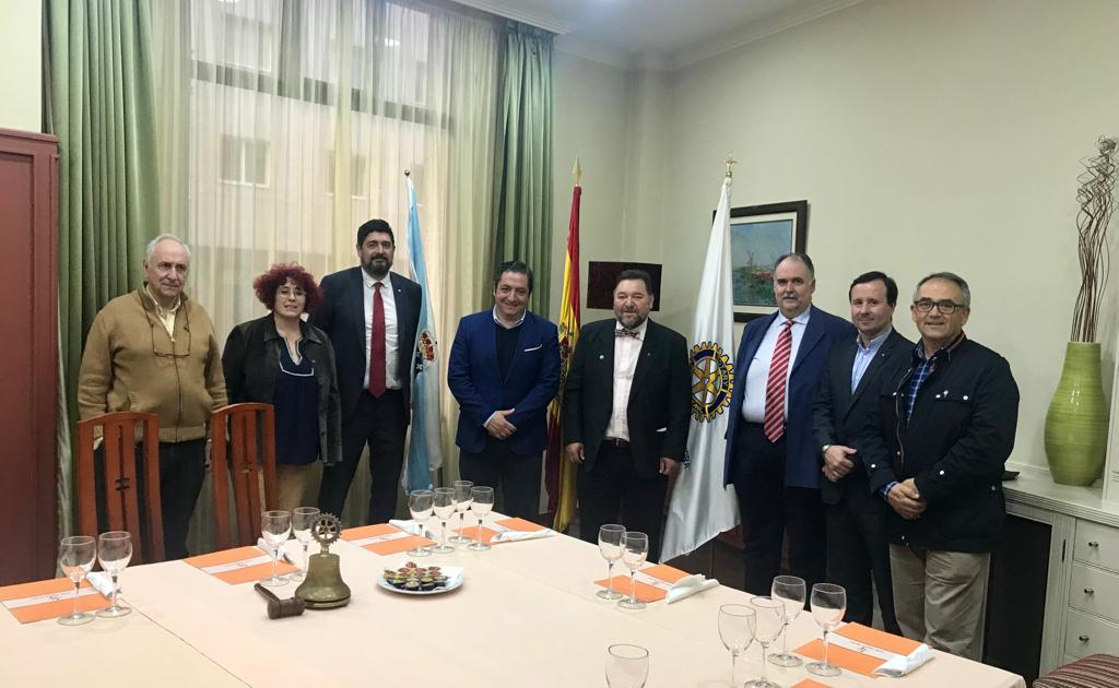 El Rotary Club de Pontevedra organiza «Ciclo con candidatos… Compromiso por Galicia: Andres Nuñez