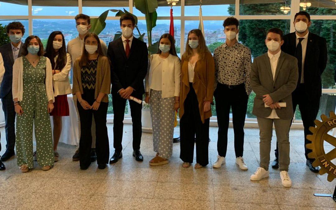 El Rotary Club de Pontevedra celebra la XIV Edición del Premio «PROTAGONISTAS DEL MAÑANA»