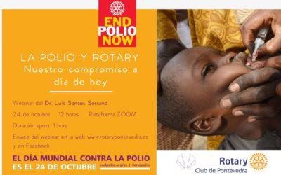 Webinar por el Día Mundial contra la Polio