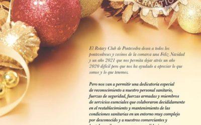 FELIZ NAVIDAD DESDE EL ROTARY CLUB DE PONTEVEDRA