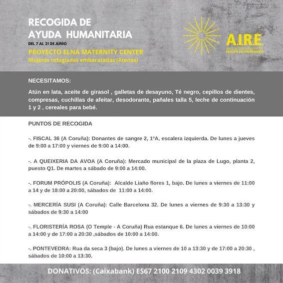 Rotary Club de Pontevedra colabora con Maternity Center AIRE
